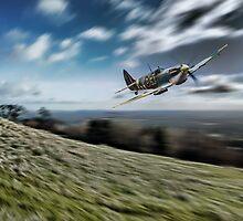 Supermarine Spitfire Fly Past by J Biggadike