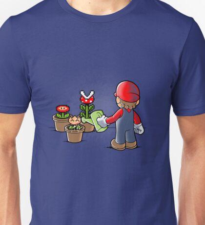 Mario gardener Unisex T-Shirt