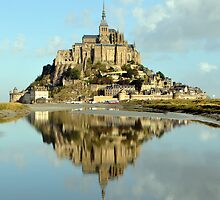 Mont St Michel, France by Cameron McKenzie