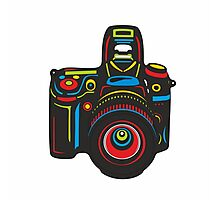 Black Camera Photographic Print