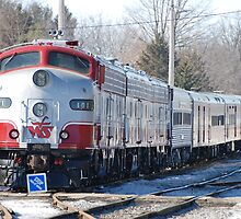 Wisconsin Southern Train 101 by rfsphoto