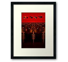Red Astor Theatre Framed Print