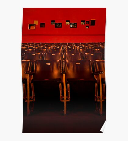 Red Astor Theatre Poster