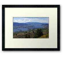 Anarchist Mountain Viewpoint  Framed Print