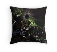 Make The Invisible Visible Throw Pillow