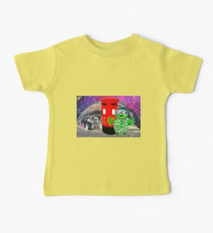 Dr WHAT is in for a Surprise Baby Tee
