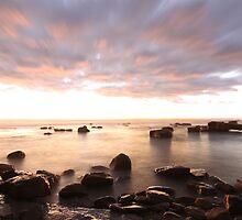 At Coalcliff village sea by jongsoolee