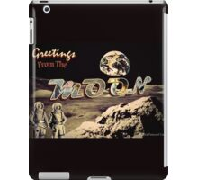 Greetings From The MOON iPad Case/Skin