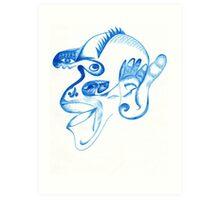 Sanative Specimen Art Print