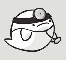 Super Smash Boos - Dr. Mario by PeekingBoo