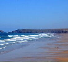 Droskyn Point, Perranporth Cornwall.. by lynn carter