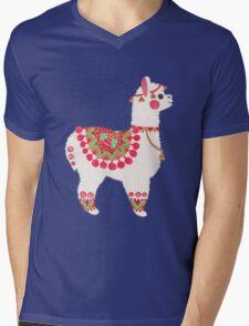 The Alpaca Mens V-Neck T-Shirt