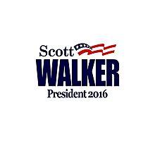 Scott Walker 2016 Photographic Print