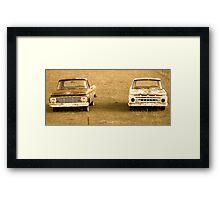 Ford Trucks Framed Print