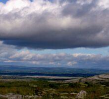 The Burren Sky Sticker
