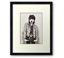 Girl Next Door! Framed Print