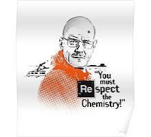 """You Must Respect The Chemistry!"" Poster"