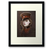 Captain. Framed Print