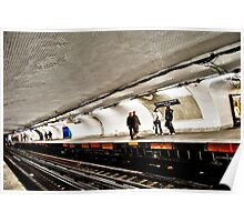 Inside Paris Metro Poster