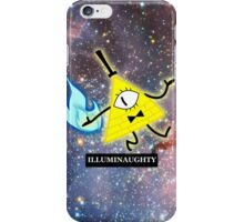 Bill Cipher- Illuminaughty (Space) iPhone Case/Skin