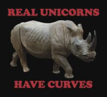 Real Unicorns Have Curves Kids Clothes