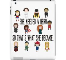 So that's what she became iPad Case/Skin