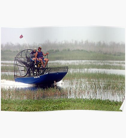 Airboating the Kissimee Poster