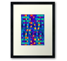 Colour Fusion Framed Print