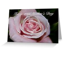 For you on Mother's Day Greeting Card