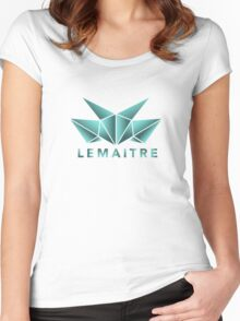 Lemaitre Abstract Design Women's Fitted Scoop T-Shirt