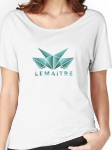 Lemaitre Abstract Design Women's Relaxed Fit T-Shirt