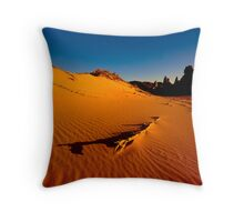 Sand Dunes Barn Hill Station Throw Pillow