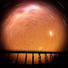 Star Trails Nimmons Bridge by bettyb