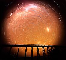 Star Trails Nimmons Bridge by bettyb
