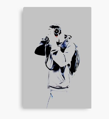 Jonathan The Photographer Canvas Print