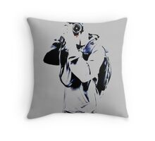 Jonathan The Photographer Throw Pillow