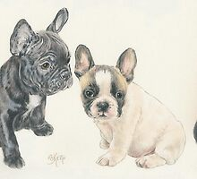 French Bulldog Puppies by BarbBarcikKeith