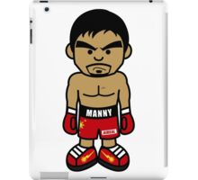 Angry Manny Pacquiao Cartoon by AiReal Apparel iPad Case/Skin
