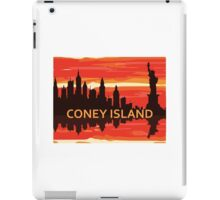 Coney Island - New York. iPad Case/Skin