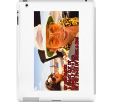 He who makes a beast of himself gets rid of the pain of being a man iPad Case/Skin