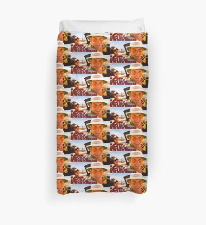 He who makes a beast of himself gets rid of the pain of being a man Duvet Cover
