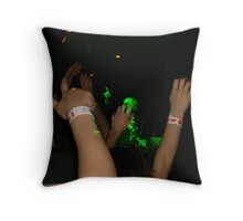 Larger than life Throw Pillow