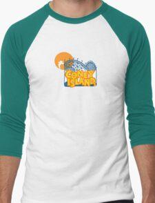 Coney Island - New York. Men's Baseball ¾ T-Shirt