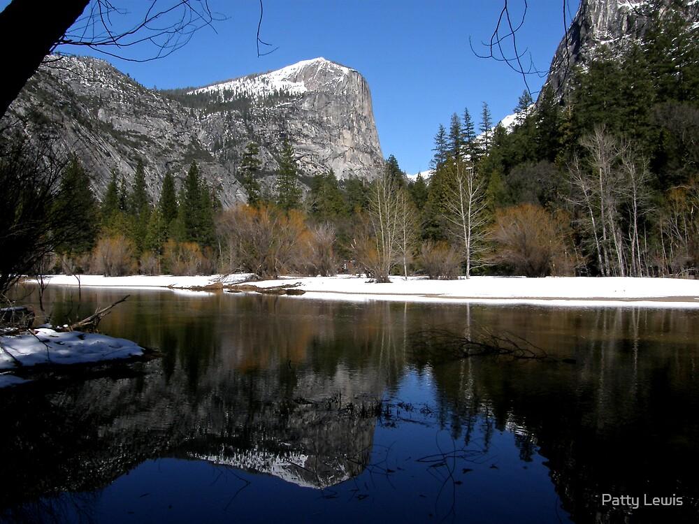 Mt. Watkins ~ Mirror Lake, Yosemite  by Patty Boyte