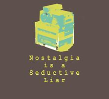 Nostalgia is a Seductive Liar: Dodge, Burn Womens Fitted T-Shirt