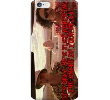 It's ok. He's just admiring the shape of your skull. iPhone Case/Skin
