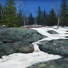 Spring Thaw at the end of the Second Lagoon by loralea