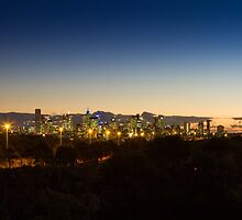 Melbourne lighting up the sky by Maddison Falls