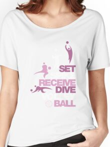Volleyball is Life Women's Relaxed Fit T-Shirt