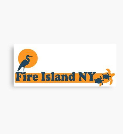 Fire Island - New York. Canvas Print